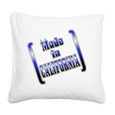 made_CALI_T Square Canvas Pillow