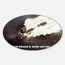 whbates sticker Decal