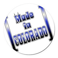 made_COLO_T Round Car Magnet