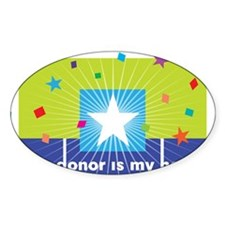 donor hero Decal