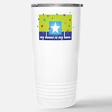 donor hero big Stainless Steel Travel Mug