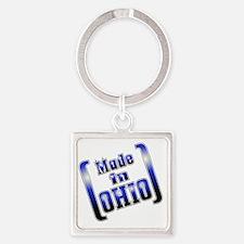made_OHIO1_T Square Keychain