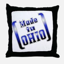 made_OHIO1_T Throw Pillow