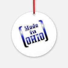 made_OHIO1_T Round Ornament
