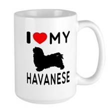 I Love My Havanese Mug