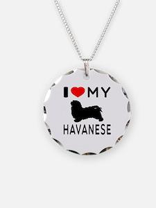 I Love My Havanese Necklace