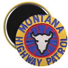 """Montana Highway Patrol 2.25"""" Magnet (10 pack)"""