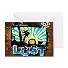 3-lostwoodvintageMPFINAL Greeting Card