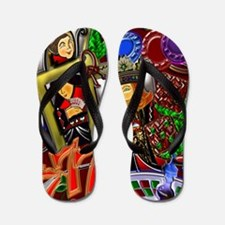 Royal Flush Games of Skill and chance 2 Flip Flops