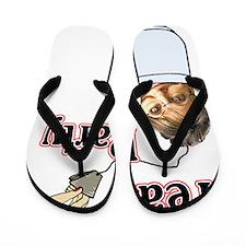 Tea Party Flip Flops