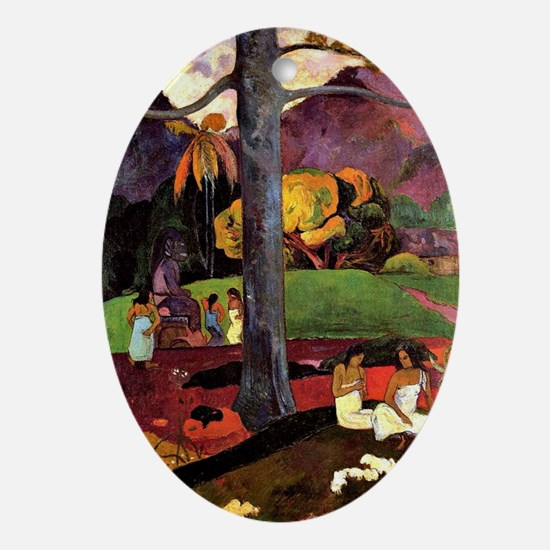 Gauguin: Olden Times, Paul Gauguin p Oval Ornament
