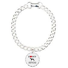 I Love My Greyhound Bracelet