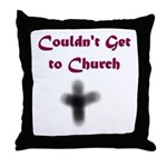 Ash Wednesday Throw Pillow