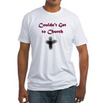 Ash Wednesday Fitted T-Shirt