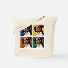 Jack Russell Warhol Tote Bag