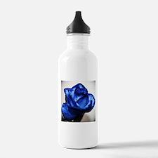 Blue Rose Water Bottle