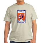 Obey the Bulldog Ash Grey T-Shirt