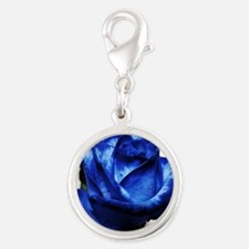 Blue Rose Charms