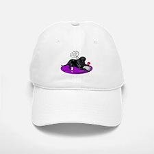 Black Lab Cupid Baseball Baseball Cap