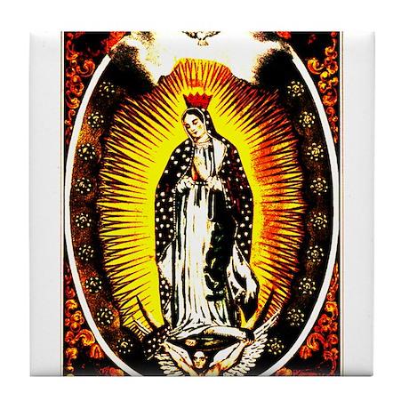 Virgin of Guadalupe Tile Coaster