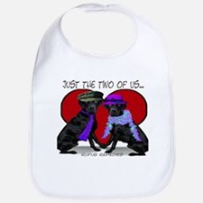 Black Lab Love Bib