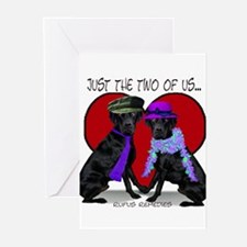 Black Lab Love Greeting Cards (Pk of 10)