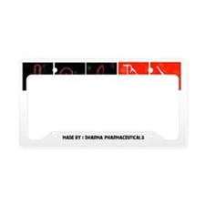 Richards antiaging cream License Plate Holder