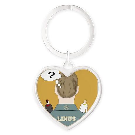 linus Heart Keychain