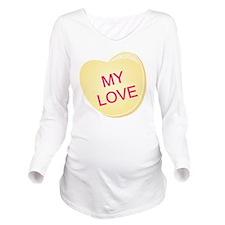 My Love 1b Long Sleeve Maternity T-Shirt
