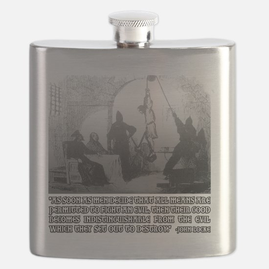 John Locke on The Ends and the Means lights Flask