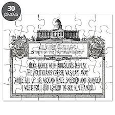 2-Politicians Funeral lights Puzzle