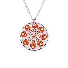 om_flower_sticker Necklace