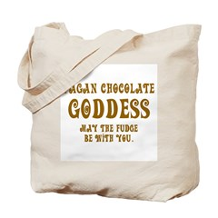 Chocolate Goddess Tote Bag