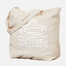 condom_happen_right_BW Tote Bag
