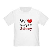 My heart belongs to johnny T