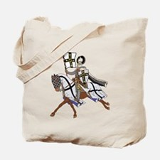 Teutonic Knight Tote Bag
