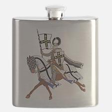 Teutonic Knight Flask