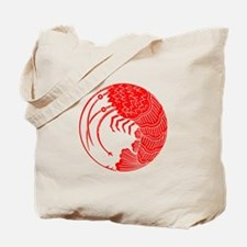 Spiny lobster circle Tote Bag
