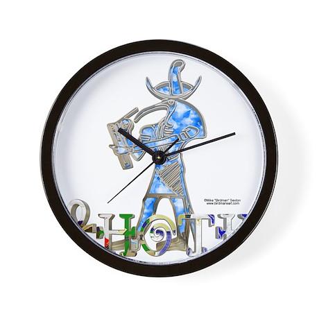 Thoth 3D Wall Clock