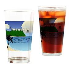 travelposter3 Drinking Glass