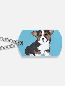 Romeo Blue Dog Tags