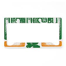 Irish grunge License Plate Holder