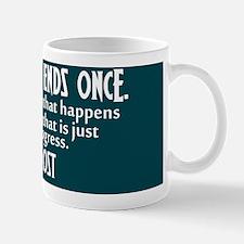endsoncebutton2 Small Small Mug