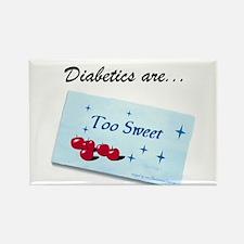 Diabetics Rectangle Magnet