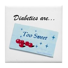 Diabetics Tile Coaster