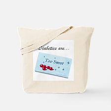 Diabetics Tote Bag