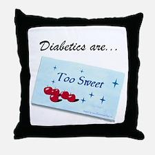 Diabetics Throw Pillow