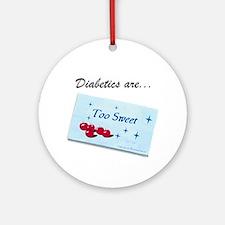 Diabetics Ornament (Round)