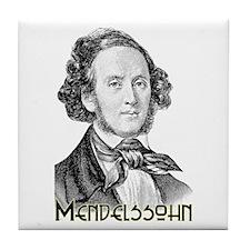 Mendelssohn Tile Coaster