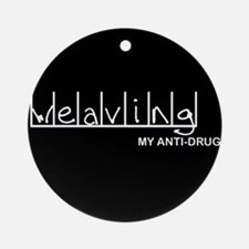 Weaving - My Anti-Drug Ornament (Round)